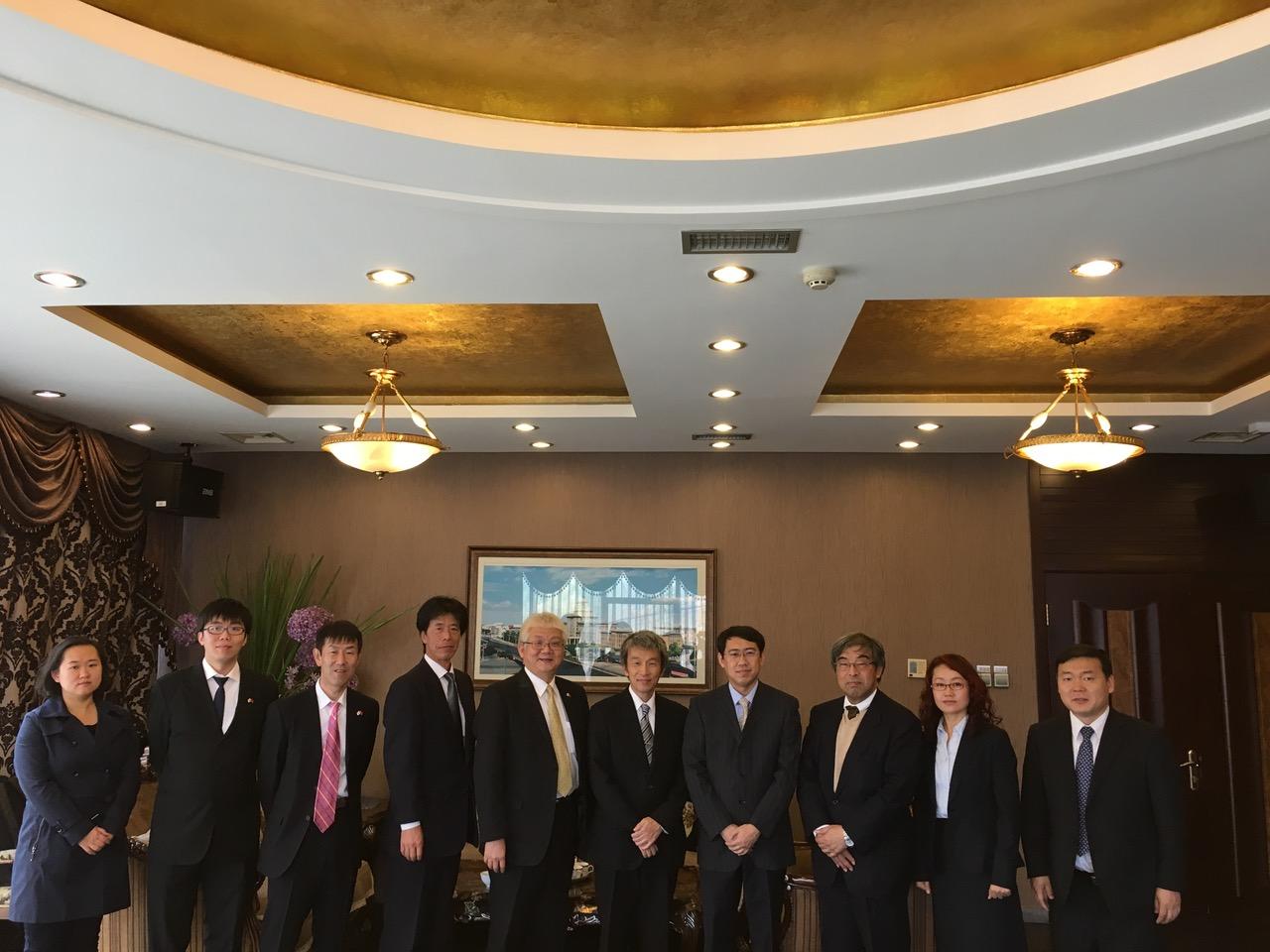 国立六大学関係者によるハルビン工業大学表敬訪問
